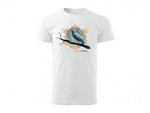 Pánské triko Bílá vrána bílé