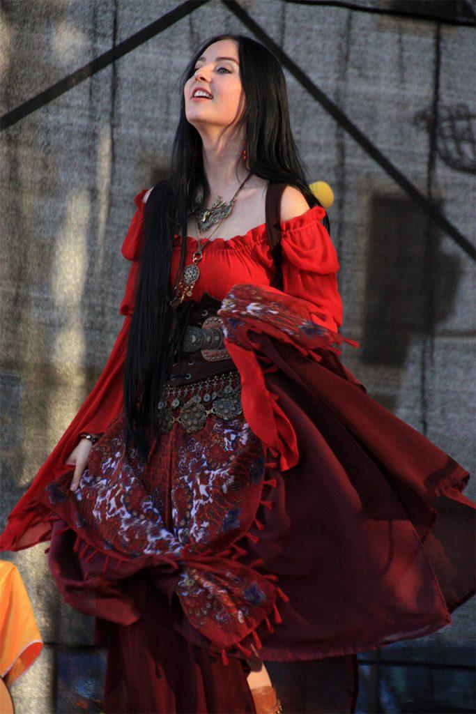 Medieval rock singer