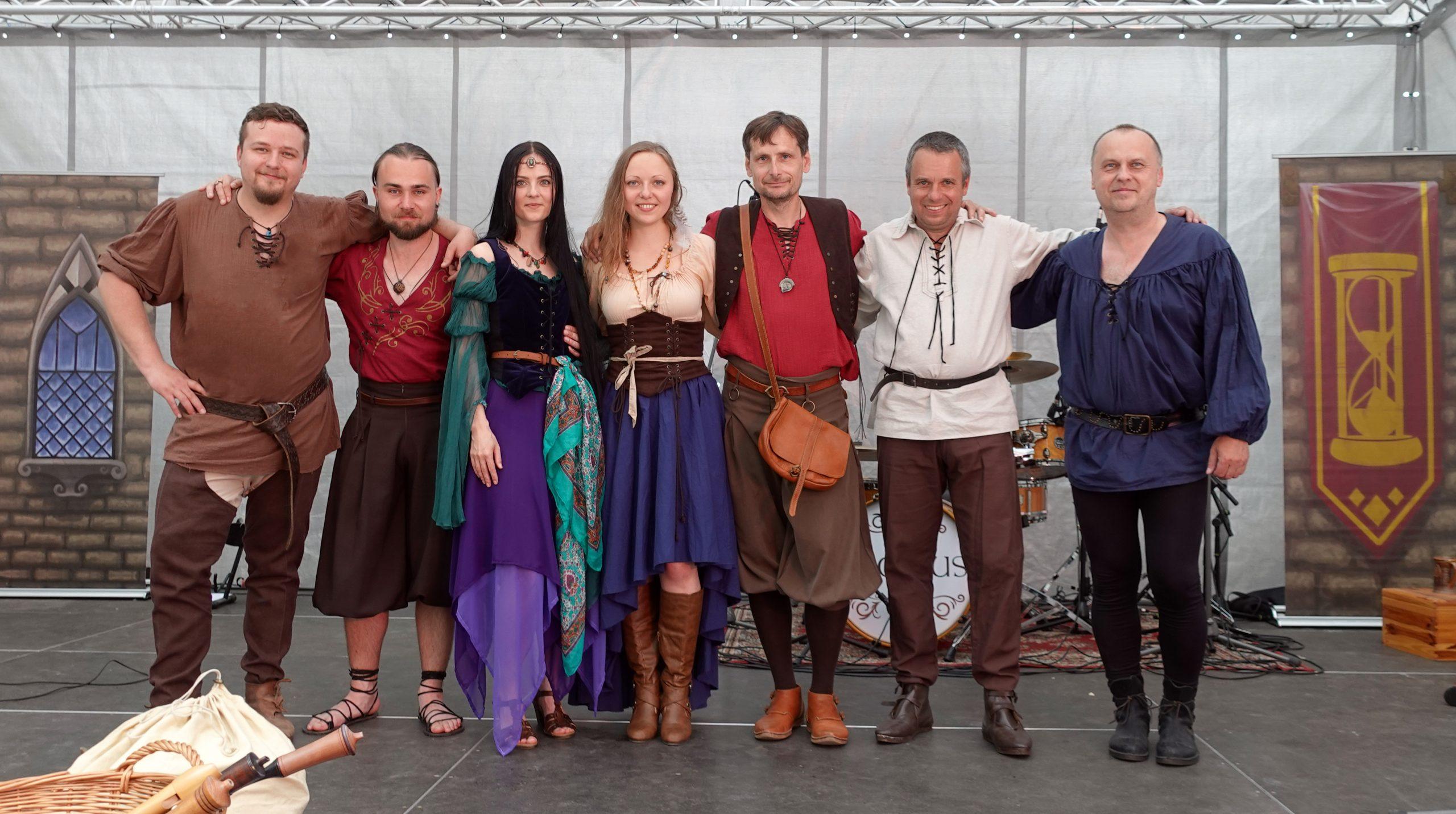 Skupina Tempus v Třeboni
